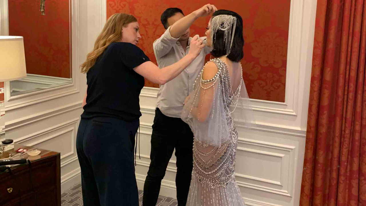 EXCLUSIVE: Getting Ready with Constance Wu for the Met Gala