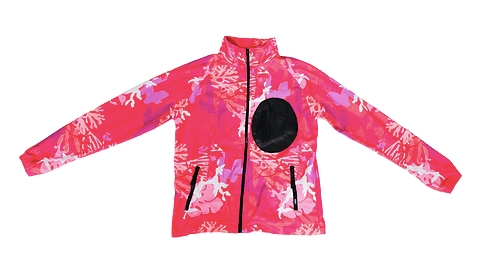 coral studios fleece jacket