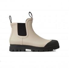 everlane rain boot stone