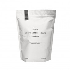 made of chocalate whey protein isolate