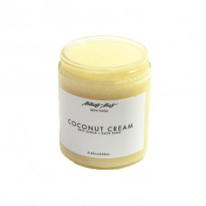 menos coconut cream body scrub bath soak