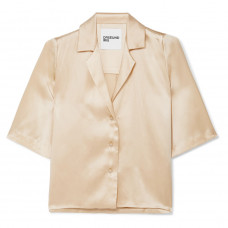 orseund iris le funk silk satin shirt