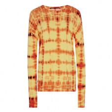 proenza schouler tie dye cotton jersey t shirt