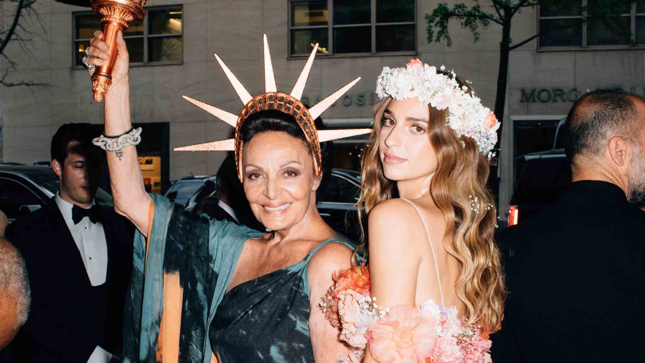 Getting Ready for the Met Gala with Diane and Talita von Furstenberg