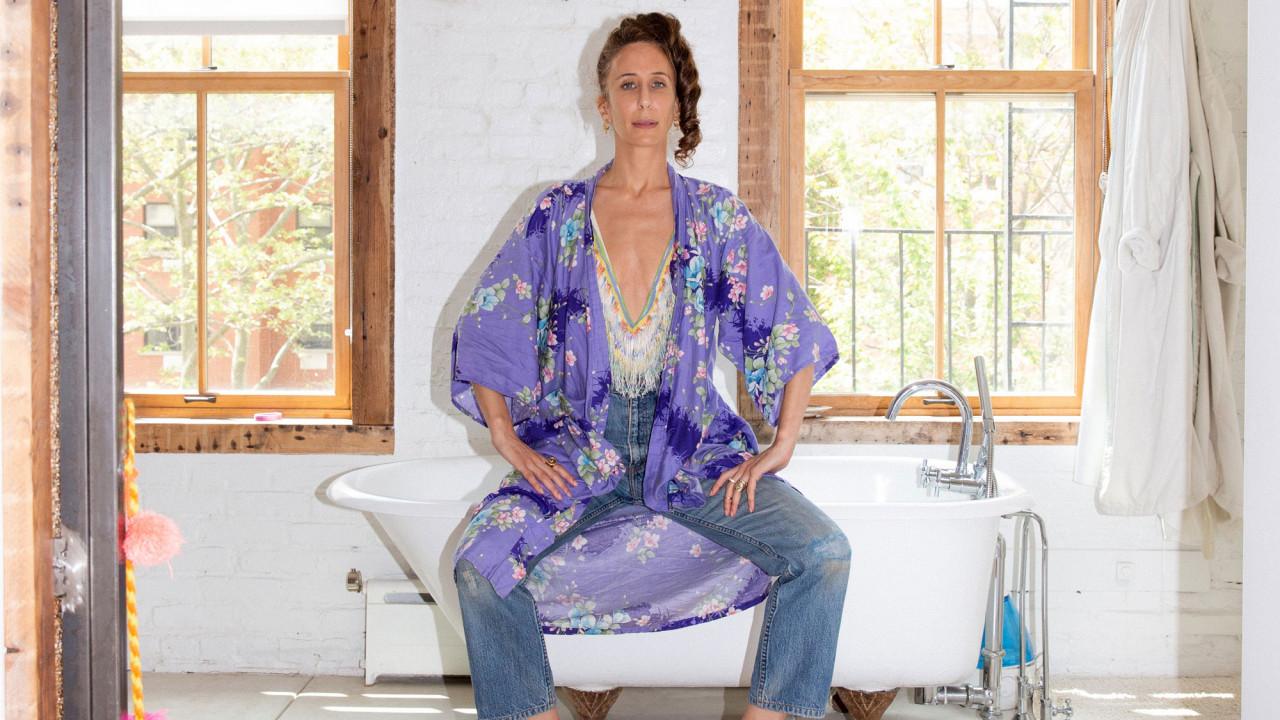 Inside Mara Hoffman's Closet—a Sea of Vintage and Namesake Pieces