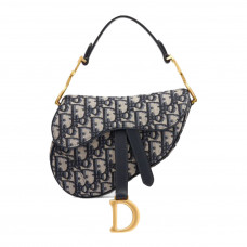 dior mini oblique saddle bag