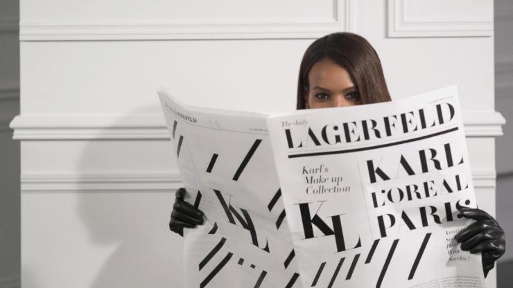 karl lagerfeld x l