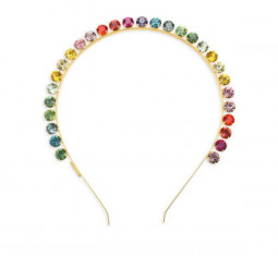 Spectrum Swarovski Crystal Headband by Lelet