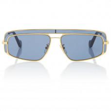 loewe square frame metal sunglasses