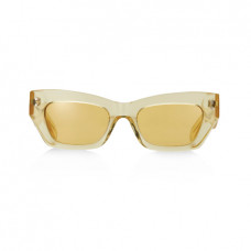 pe nation x pared petite amour yellow sunglasses