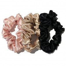 slip silk large scrunchie set