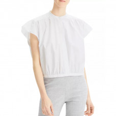theory shirred box top