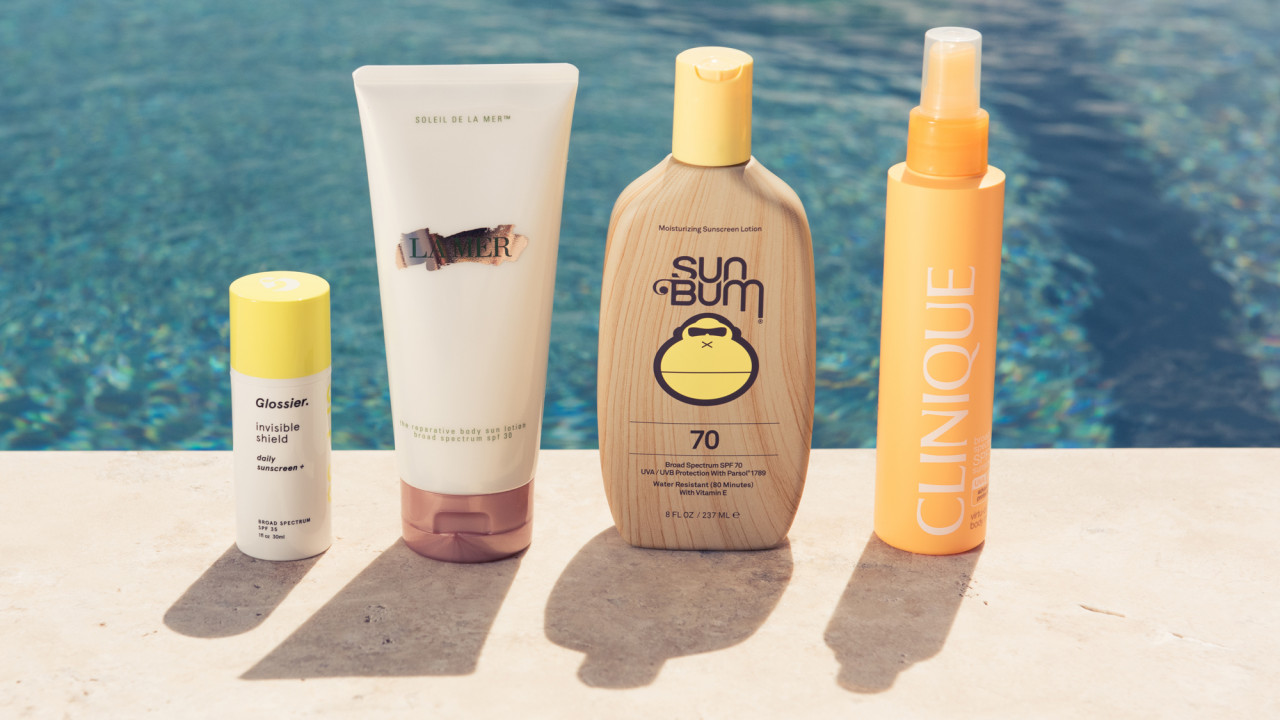 shop sunscreens made for face