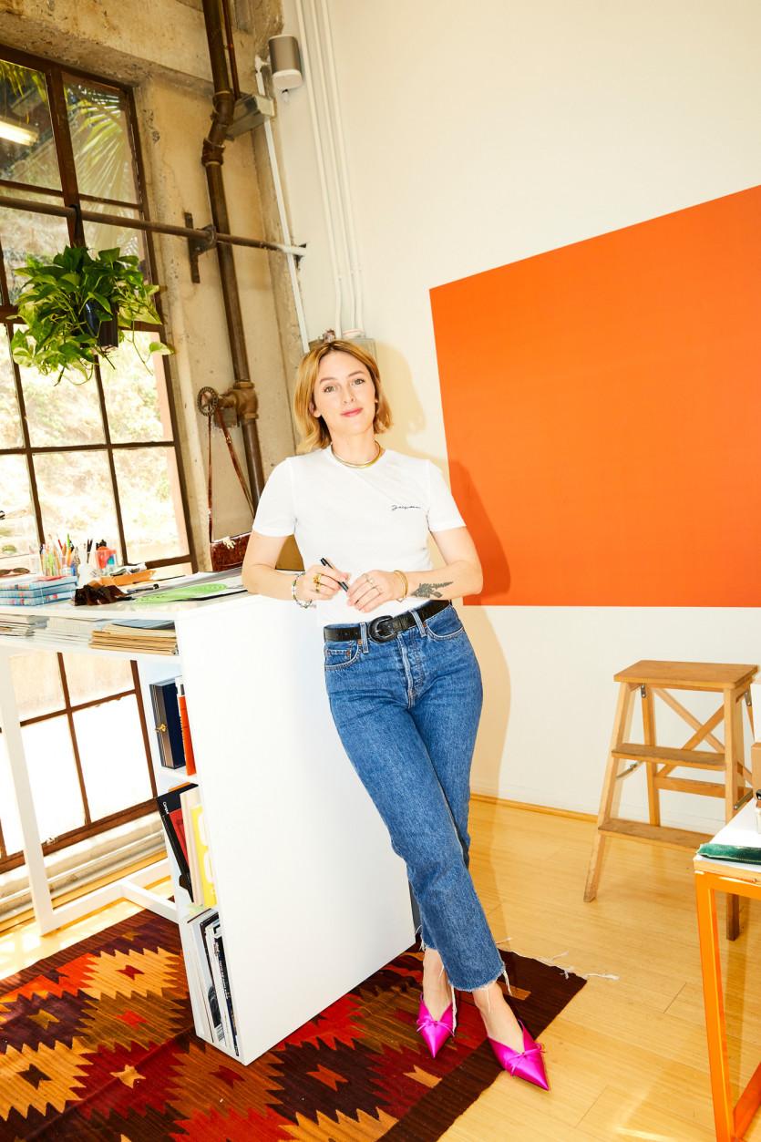 garrett leight designer elena doukas