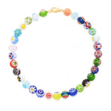 beck jewels millefiori anklet