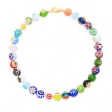 beck jewels millefiori anklet