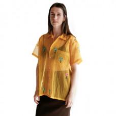 bode sheer daisy shirt