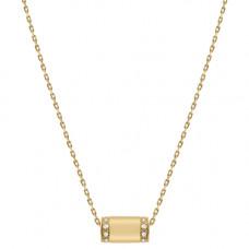 miansai pillar necklace 14k gold pave