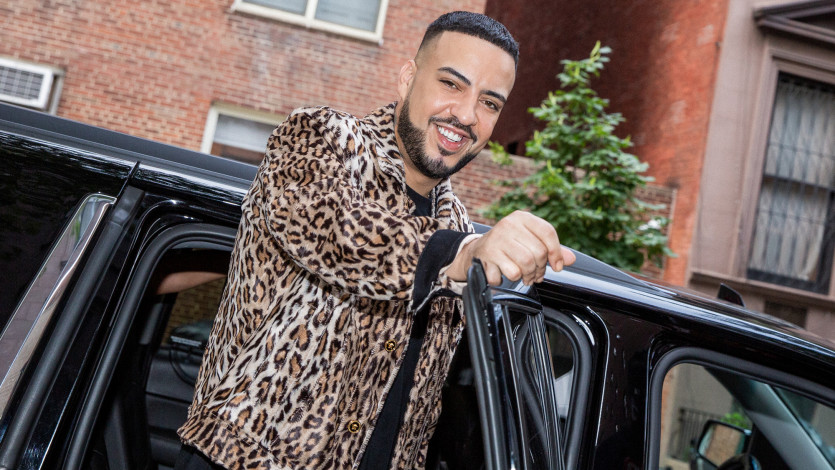 French Montana Getting Ready for the 2019 MTV VMAs