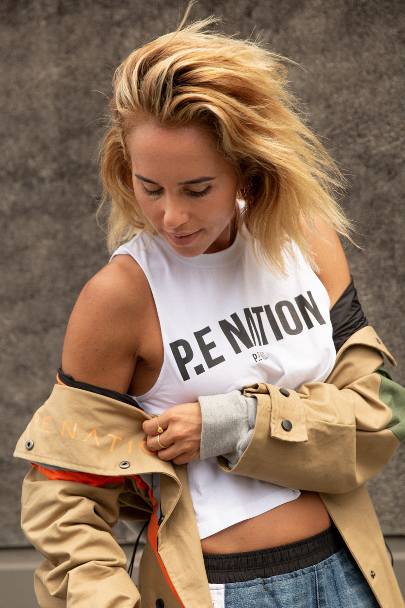 p.e nation new denim collection