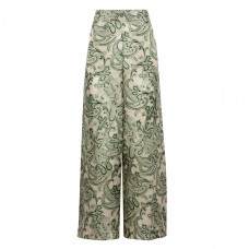 acne studios tennessee printed chiffon wide leg pants