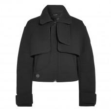 atlein cropped felt coat