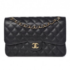 chanel classic double flap quilted jumbo