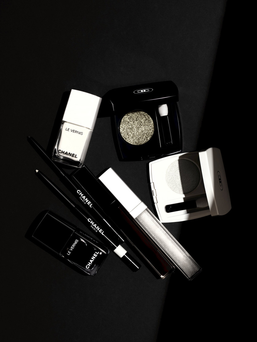 chanel nior and blanc makeup collection