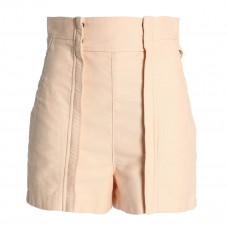 chloe cotton canvas shorts
