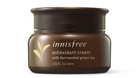 innisfree antioxidant cream with fermented green tea
