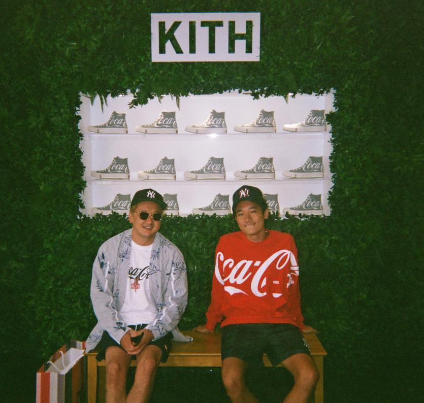 kith x coca cola fourth collaboration