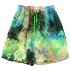 kkco camp short in earth tie dye