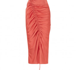 Sisilia Drawcord Midi Skirt by The Line by K