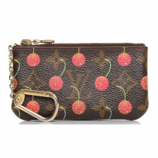 louis vuitton key pouch ceries cherry monogram