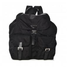 prada vela backpack nero black