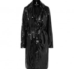 Gloss-PU Trench Coat by Rain