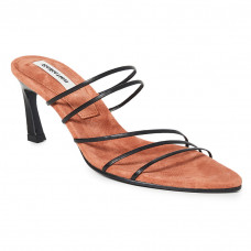 reike nen string two tone leather sandals