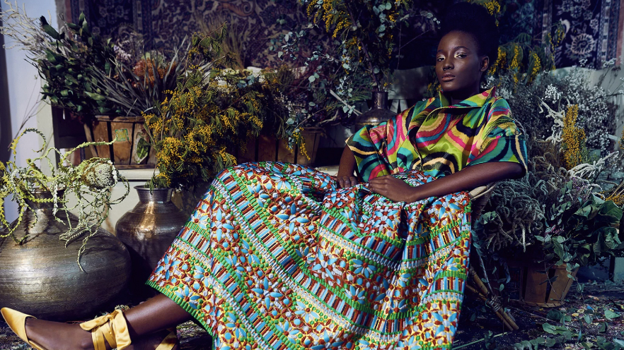 Rianna + Nina's Vintage-Inspired Silk Collection Proves Pattern Is Everything