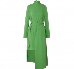 Convertible Belted Stretch-jersey Midi Dress by Tibi