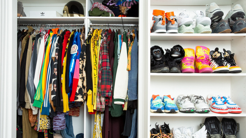 Inside Kerwin Frost's Closet and New York Home