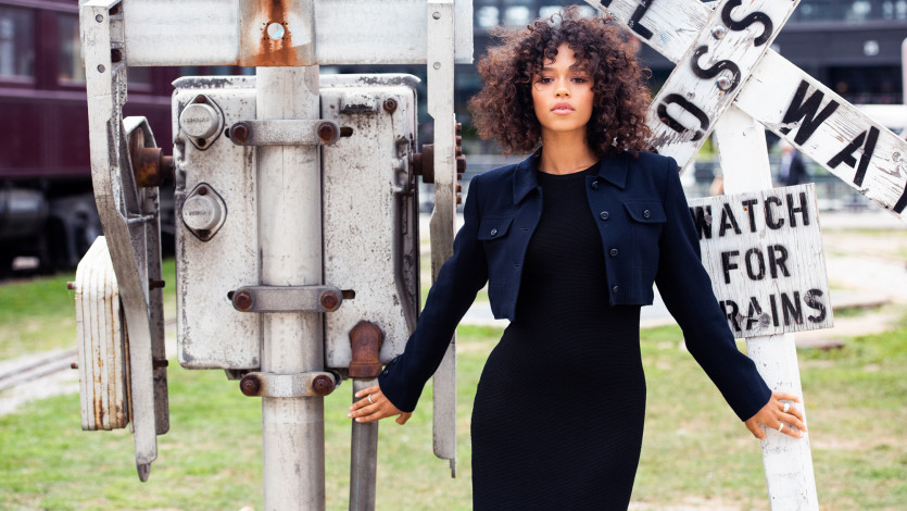 Actress Taylor Russell Talks Her Upcoming Film, Waves