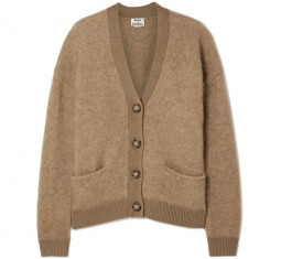 Rives Oversized Knitted Cardigan by Acne Studios