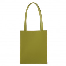 baggu medium leather retail tote