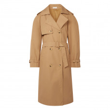 bite studios organic cotton garbardine trench coat
