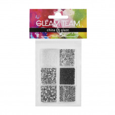 china glaze gleam team stud and rhinestone kit