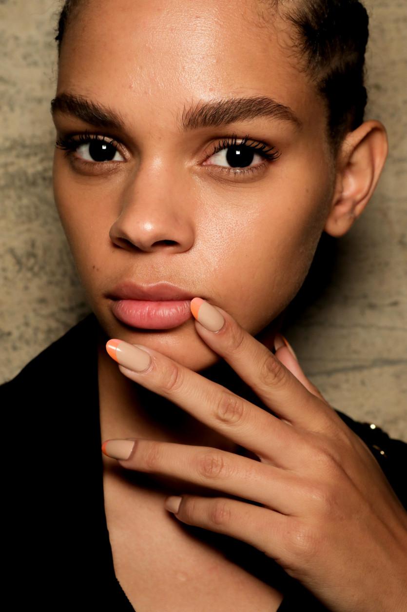 french manicure comeback 2019