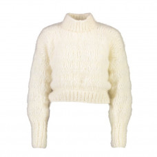 frisson knits isabella sweater cream