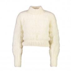 frisson knits isabella sweater cream
