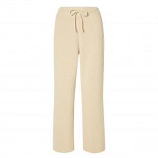 le 17 septembre ribbed cotton wide leg pants
