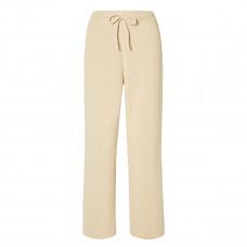 le 17 septembre ribbed cotton wide leg pants